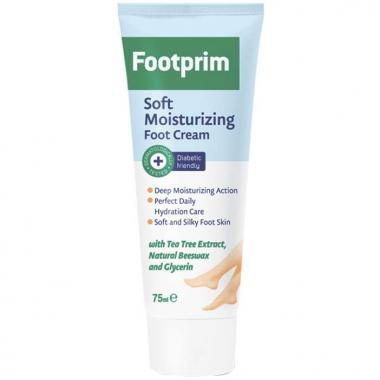 Крем для ног увлажняющий Soft Moisturizing Foot Cream 75 мл.