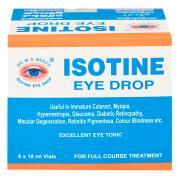 Глазные капли Isotine 10 мл.
