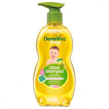 Детский шампунь с оливой Dermoviva 500 мл.