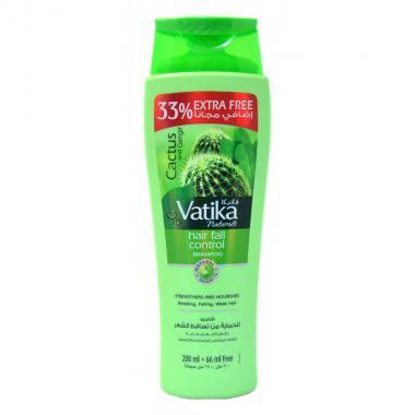 Шампунь с кактусом, маслом усьмы и чеснок Vatika Cactus Garlic Gergir Hair Fall Control 200 мл.