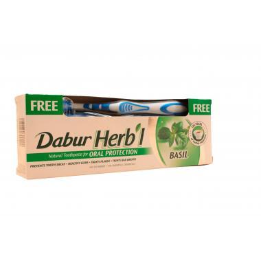 Зубная паста «Базилик»  Dabur Herb'l basil 150 гр.