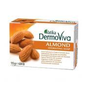 Натуральное мыло с миндалём Vatika Dermo Viva 115 гр.