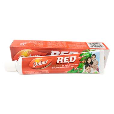 Зубная паста с гвоздикой и мятой Dabur RED 100 гр.