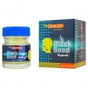 Мазь согревающая для горла и носа Black Seed Vaporub Hemani 10 мл.