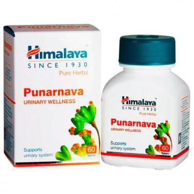 Punarnava средство от инфекций мочеполовой системы Himalaya 60 капсул