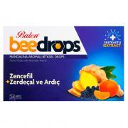 Драже от кашля с имбирем, куркумой, можжевельником, мандарином Balen BeeDrops 24 драже