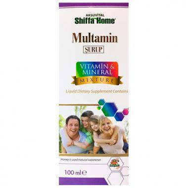 Мульти витаминный сироп для всей семьи VITAMIN and MINERAL Shiffa Home 100 мл.