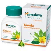 Karela Himalaya при сахарном диабете для улучшения обмена веществ 60 таблеток