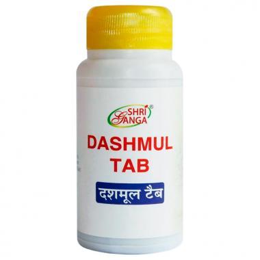Dashmul Tab Shri Ganga для очищения и омоложения 100 табл.