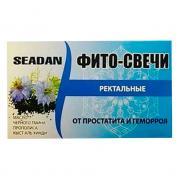 Фито-свечи ректальные от простуды и геморроя Seadn 10 шт.