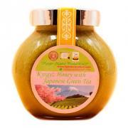Кыргызский мед с японским зеленым чаем