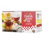 Зеленый чай Gaia Green Tea Assorted (Ассорти ) 25 пакетиков