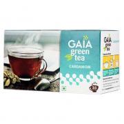 Зеленый чай Gaia Green Tea Cardamom (Кардамон) 25 пакетиков