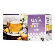 Зеленый чай Gaia Green Tea Ginger (Имбирь) 25 пакетиков