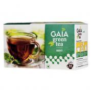 Зеленый чай Gaia Green Tea Mint (C мятой) 25 пакетиков