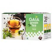Зеленый чай Gaia Green Tea Tulsi (Базилик) 25 пакетиков