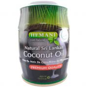 Масло кокоса холодного отжима Hemani Сoconut oil 400 гр.